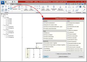 CYPELEC REBT. Configuración de planos