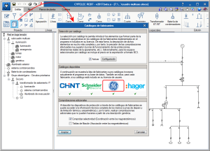CYPELEC REBT. Características técnicas por catálogo. Productos GENERAL ELECTRIC