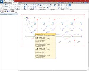 CYPELEC REBT. Cálculo en implantación de circuitos con carga distribuida